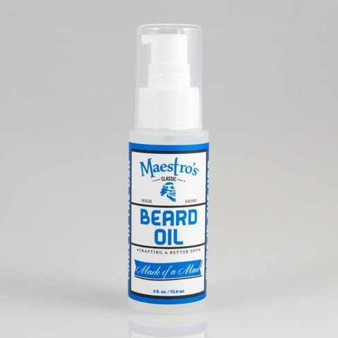 Maestro's Mark of a Man Aromatic Beard Oil - 2 fl oz - image 1 of 3