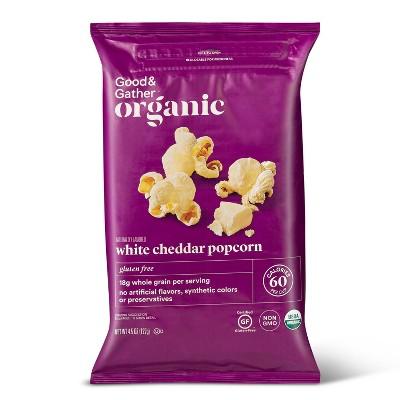 Organic White Cheddar Popcorn - 4.5oz - Good & Gather™