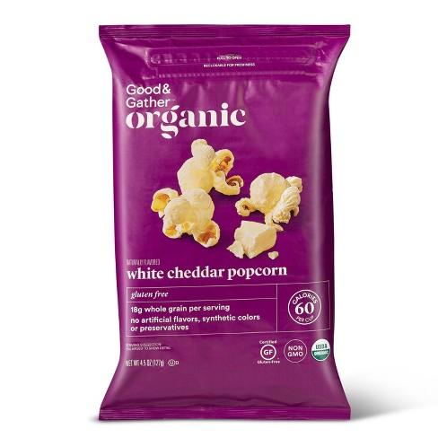 Organic White Cheddar Popcorn - 4.5oz - Good & Gather™ - image 1 of 3