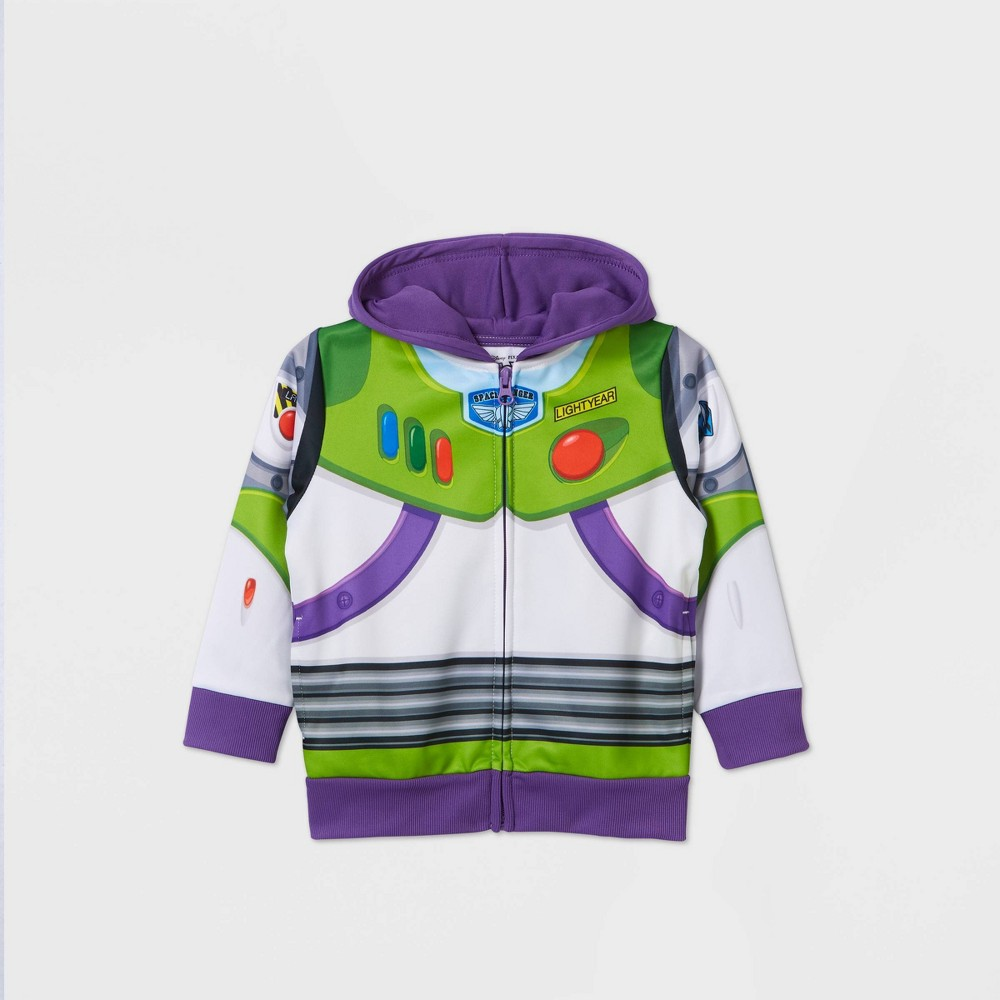 Toddler Boys 39 Toy Story Buzz Lightyear Hoodie Sweatshirt White 5t