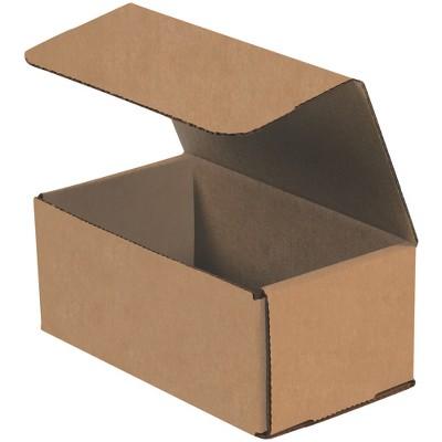 - 25//Bundle 4 x 4 x 5 Corrugated Boxes Partners Brand 445 Kraft 2 Bundles