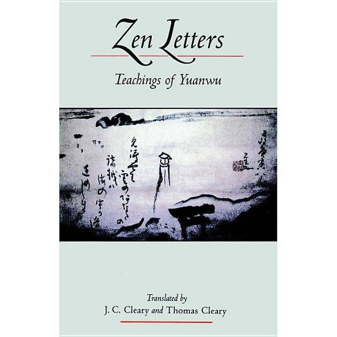 Zen Letters - by  J C Cleary & Thomas Cleary (Paperback) - image 1 of 1