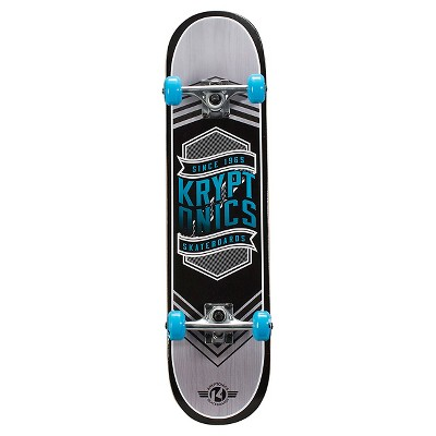 "Kryptonics 31"" Drop-In Series Skateboard - Flag Blue"