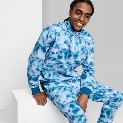 Men's Regular Fit Dip Dye Fleece 1/4th Zip Sweatshirt - Original Use™