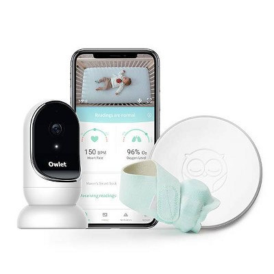 Owlet Smart Sock and Digital Video Monitor Bundle