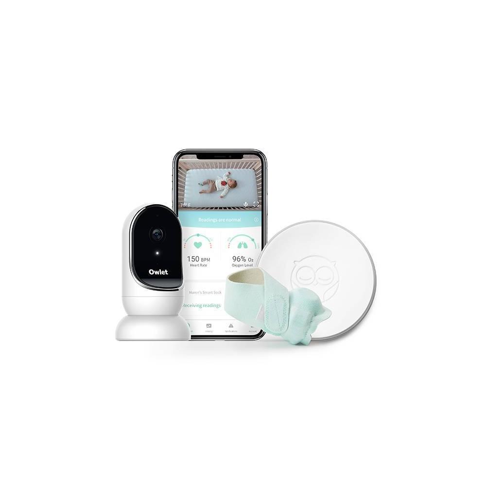 Image of Owlet Smart Sock and Digital Video Monitor Bundle