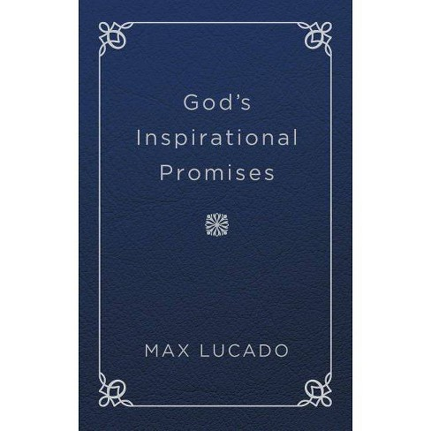 God's Inspirational Promises - by  Max Lucado (Leather_bound) - image 1 of 1