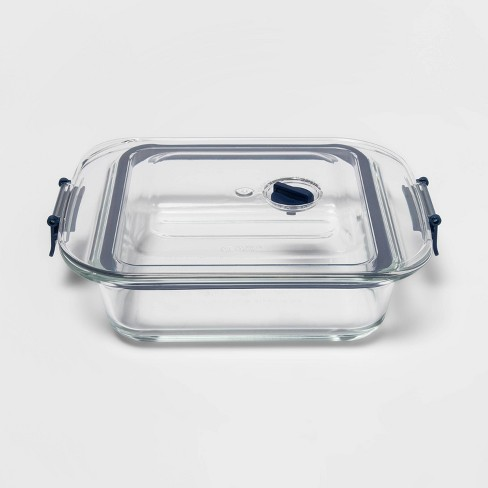 2qt Glass Baking Dish with Locking Lid - Made By Design™ - image 1 of 4