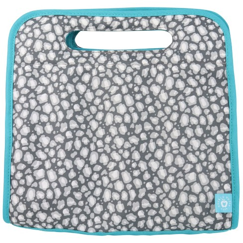 Double Dutch Club Lunch Tote - Gray Cheetah - image 1 of 4