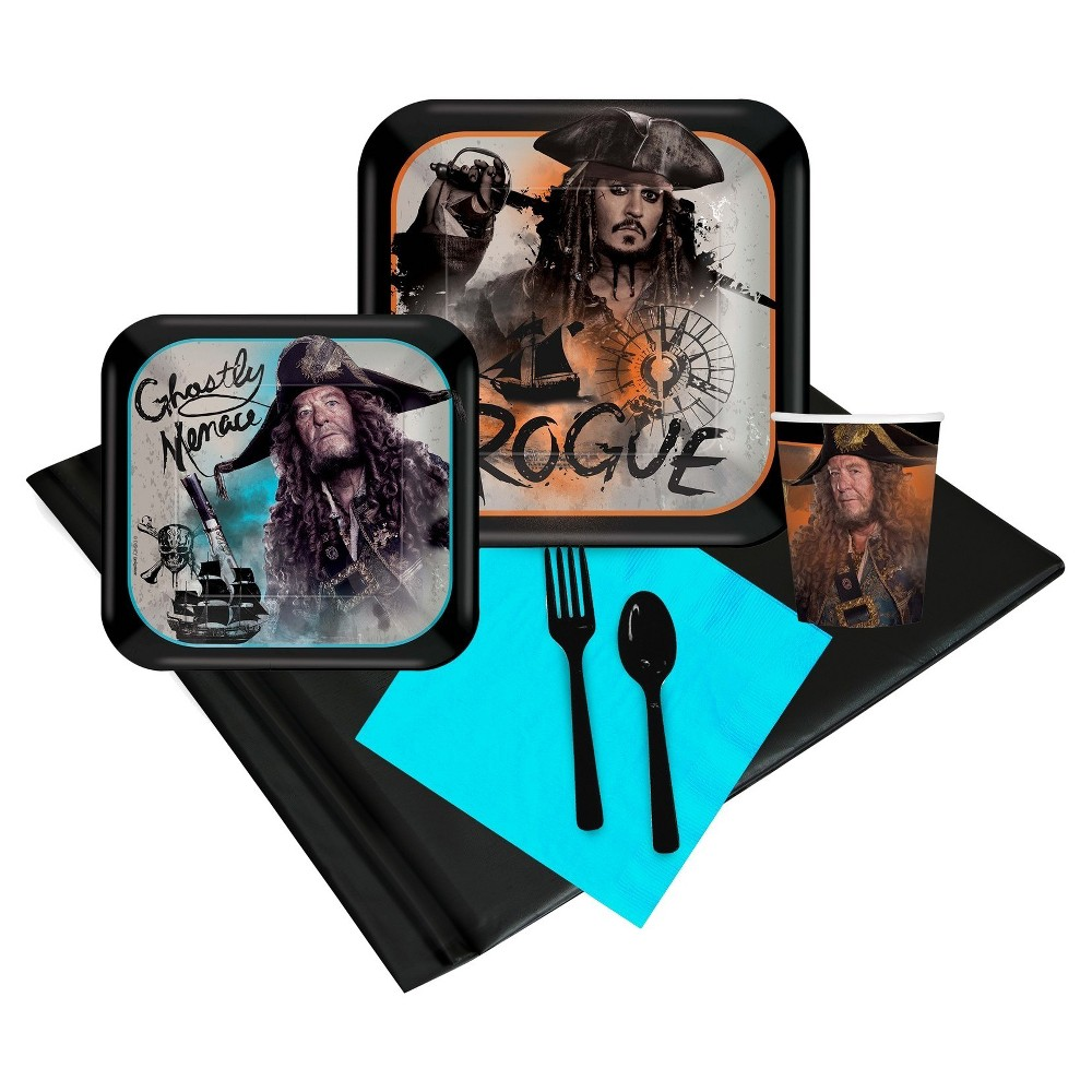 Pirates Of The Caribbean 16 Guest Party Pack, Multi-Colored