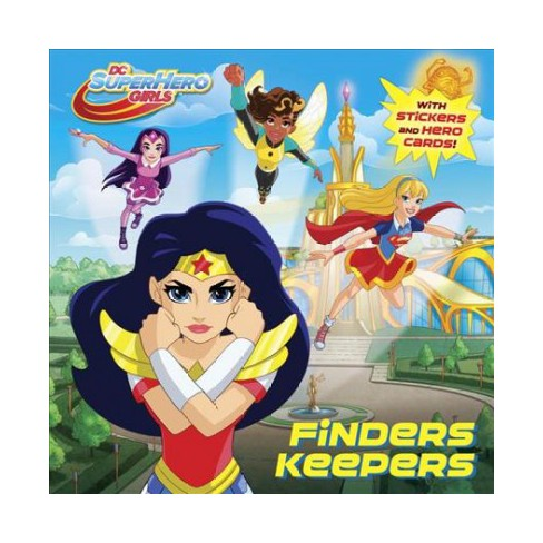 Finders Keepers (DC Super Hero Girls) - (Pictureback(r)) by  Courtney Carbone (Paperback) - image 1 of 1