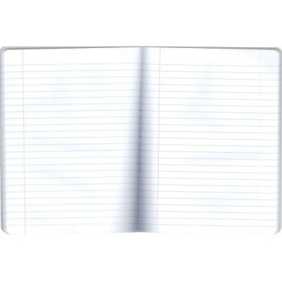 Staples 639653 Composition Notebook 9.75-Inch x 7.5-Inch Wide Ruled 100 Sh Blue
