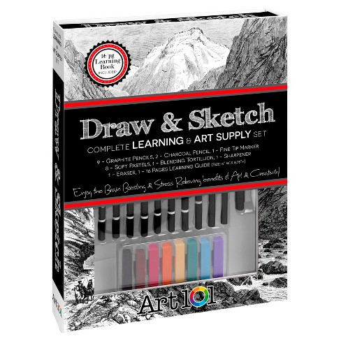 Large Draw & Sketch Book Box - Art 101 - image 1 of 2