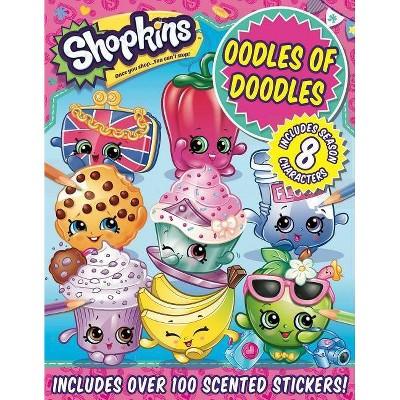 Shopkins Oodles of Doodles - (Paperback)