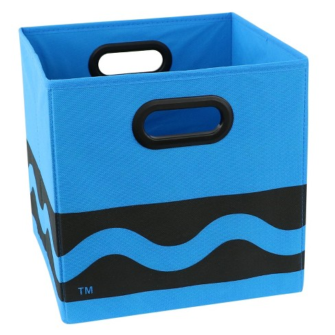 "Blue Crayola Black Serpentine Storage Bin (10.5""x10.5"") - image 1 of 3"