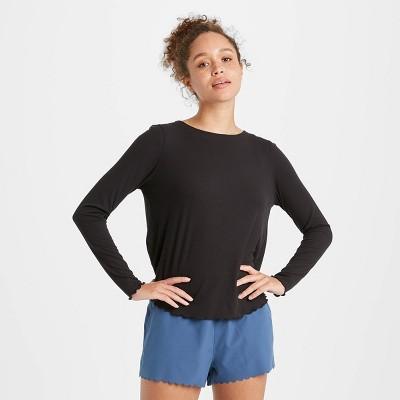 Women's Long Sleeve Open Back Top - JoyLab™