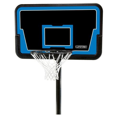"Lifetime Stream Line 44"" Steel Portable Basketball Hoop - image 1 of 4"