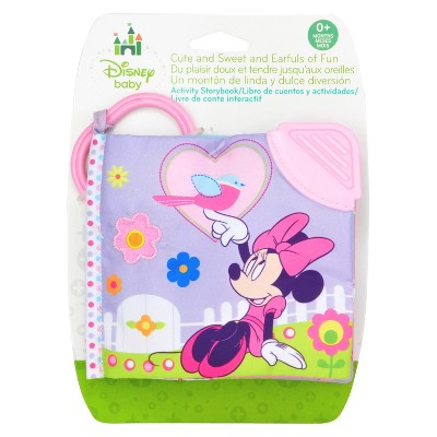 Disney Baby Minnie Mouse Soft Book with Clip - 5