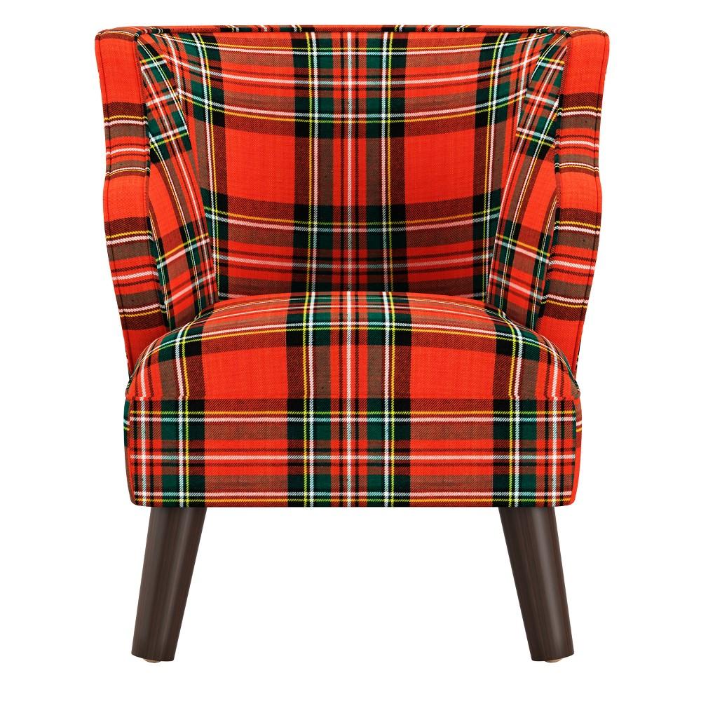 Kids Modern Chair Ancient Stewart Red - Skyline Furniture