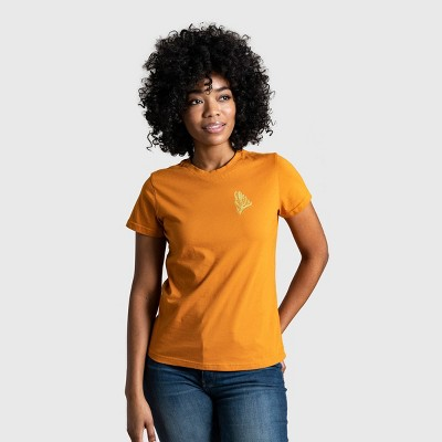 Women's United By Blue Rooted in Nature Short Sleeve Graphic T-Shirt - Sienna