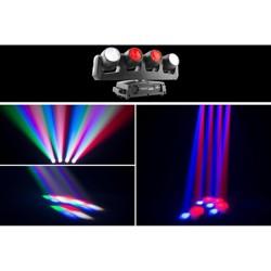 CHAUVET DJ Intimidator Wave 360 IRC LED Moving Heads (4)