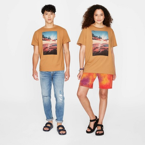 Adult Relaxed Fit Short Sleeve Graphic T-Shirt - Original Use™ Orange - image 1 of 2
