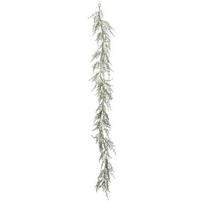 Artificial Fairhill Leaf Garland (6')- Vickerman