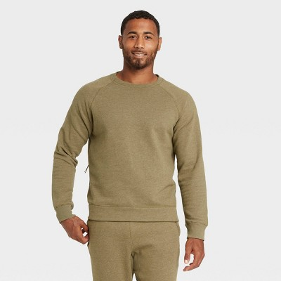 Men's Fleece Crewneck Pullover - All in Motion™
