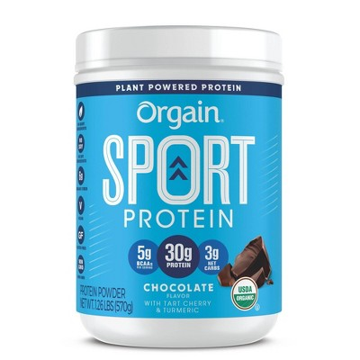 Orgain Organic Sport 30g Protein Powder - Chocolate - 20.16oz