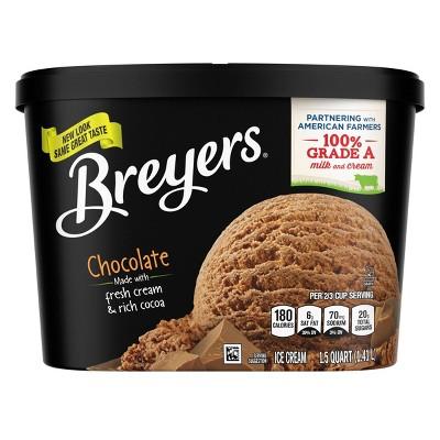 Breyers Original Chocolate Ice Cream - 48oz
