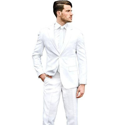 Suitmeister White Knight Men's Costume Suit