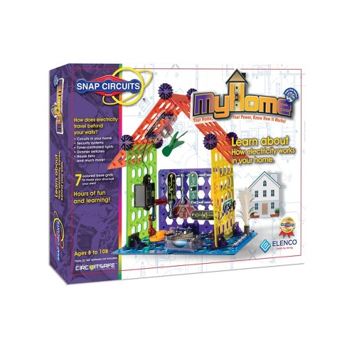 Snap Circuits My Home Science Kit - image 1 of 4