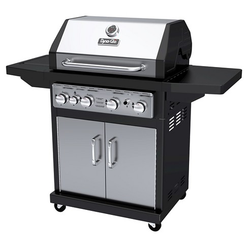 Dyna-Glo 4 Burner Propane Gas Grill with Side Burner - image 1 of 7