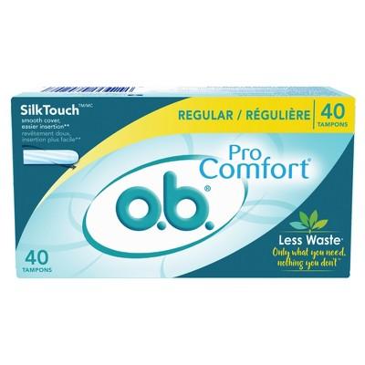 Tampons: o.b. Pro Comfort