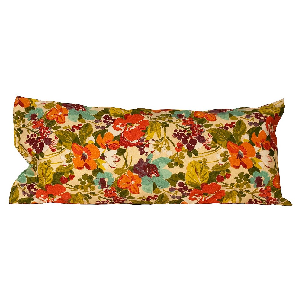 Outdoor Deluxe Hammock Pillow - Orange Blossom, Orange Bl