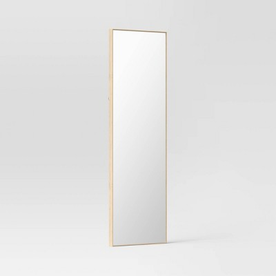 "20"" x 60"" Narrow Border Recycled PS Floor Mirror - Project 62™"
