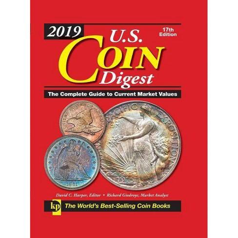 2019 U.S. Coin Digest - 17 Edition (Spiral_bound) - image 1 of 1