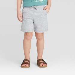Toddler Boys' Knit Pull-On Shorts - Cat & Jack™ Gray