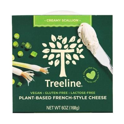 Treeline Scallion Vegan Nut Cheese - 6oz