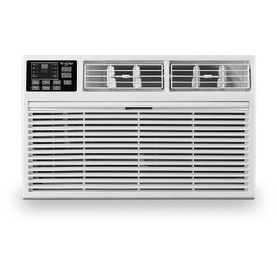 Whirlpool Energy Star 8,000 BTU 115V Through the Wall Air Conditioner WHAT081-1AW with Remote Control