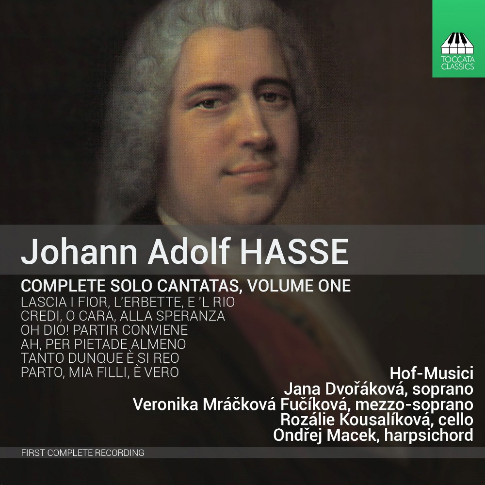 Various - Hasse:Complete Solo Cantatas Vol 1 (CD)