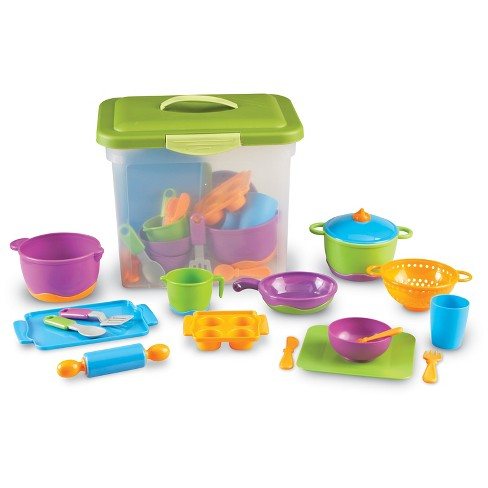 Learning Resources New Sprouts Classroom Kitchen Set - image 1 of 4