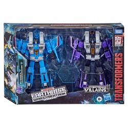 Transformers Generations War for Cybertron Earthrise Voyager WFC-E29 Seeker 2-Pack