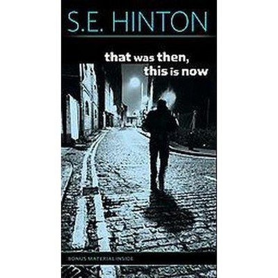 that was then this is now reprint paperback s e hinton target rh target com that was then this is now chapter 5 that was then this is now questions and answers