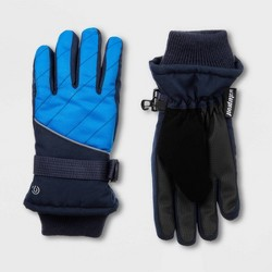 Boys' Promo SKI Gloves with Reflective - C9 Champion® Blue