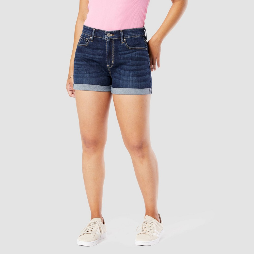 Denizen 174 From Levi 39 S 174 Women 39 S High Rise 3 34 Jean Shorts Stand By Me 10