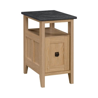 August Hill Side Table Brown - Sauder