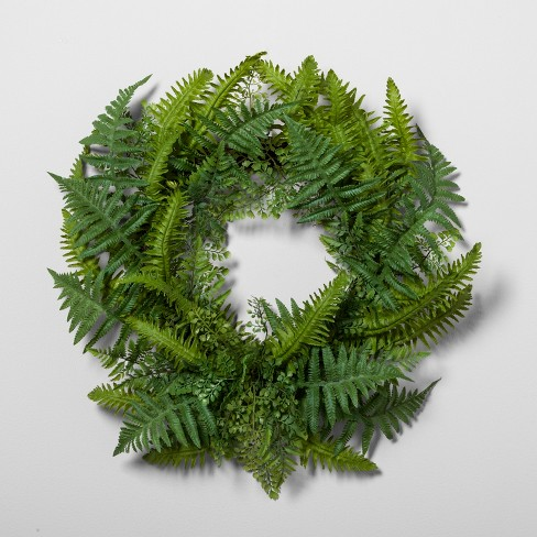 Fern Wreath - Hearth & Hand™ with Magnolia - image 1 of 1