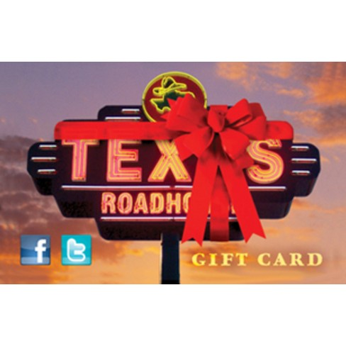 Texas Roadhouse Gift Card (Email Delivery) - image 1 of 1