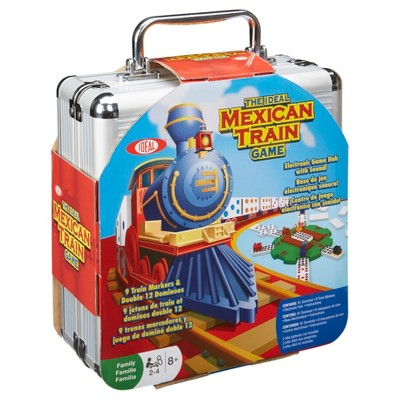 Ideal Mexican Train Game in Storage Tin